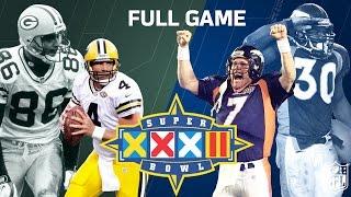 Super Bowl XXXII Elway's 1st Super Bowl Win   Green Bay Packers vs. Denver Broncos   NFL Full Game