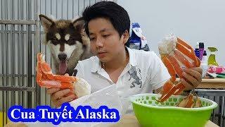 Ăn Cua Tuyết Alaska tại Việt Nam xem thử NTN / Eat Snow Crab Legs at VietNam