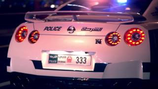 ドバイ警察が公開したスーパーパトカーのプロモーション動画