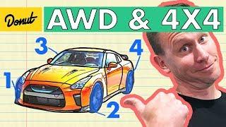 AWD VS 4x4 | How it Works | Donut Media