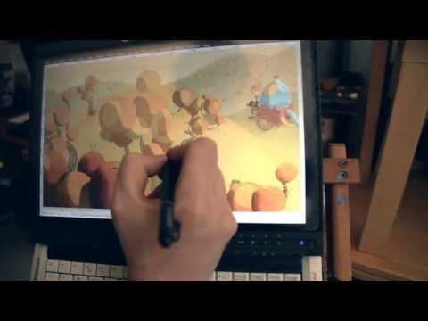 Come nasce un cartone animato - Oranguerrilla di Turi Scandurra