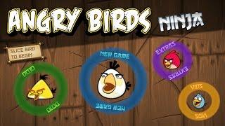 Angry Birds Ninja (Angry Birds vs Fruit Ninja)