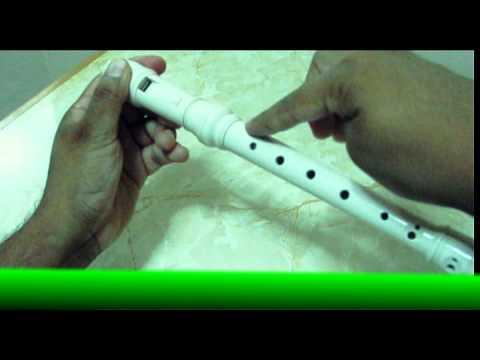 Flauta Dulce - Partes del instrumento