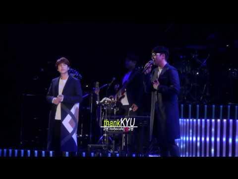 [愛규현_thankKYU] 170314 ~ONE VOICE~ Yokohama Final :: 여전히 아늑해 - 규현(KYUHYUN) with 성시경