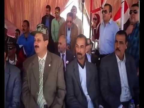 وفد المصرييين الاحرار أثناء زيارته إلى قناة السويس الجديدة