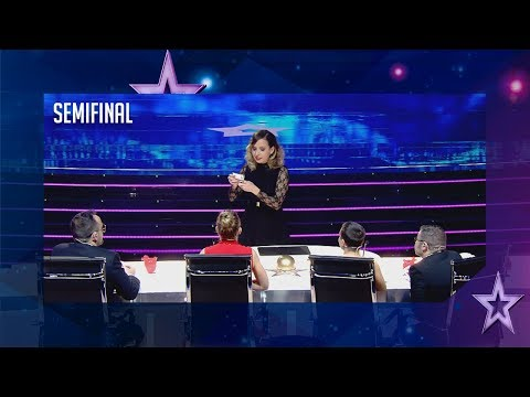 El pase de oro vuelve a Venezuela: Dania cautiva con su magia | Semifinal 2 | Got Talent España 2018