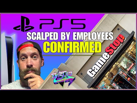 PlayStation 5 preorders Scalped by GameStop Employees. PS5 NEWS!