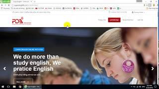 Học tiếng Anh online free tốt nhất