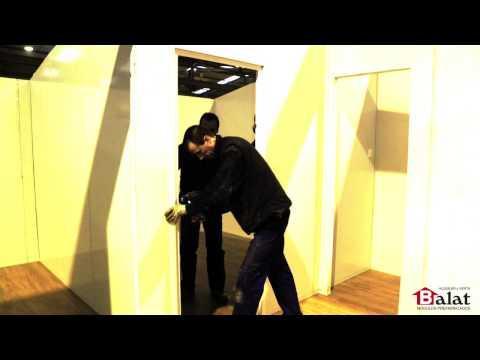 BALAT/ Proceso de montaje de una casa prefabricada Balat