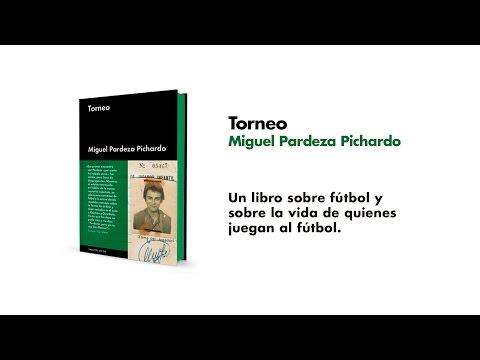 Miguel Pardeza, autor de TORNEO