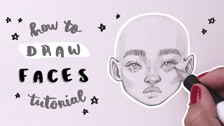 How I Draw Faces | Updated Tutorial