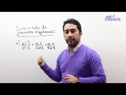 Fracciones algebraicas 7