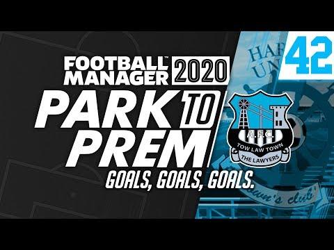 Park To Prem FM20 | Tow Law Town #42 - Goals, Goals, Goals | Football Manager 2020