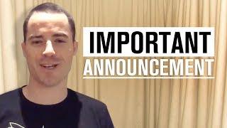 Important Announcement & Updates!
