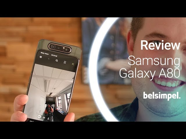 Belsimpel-productvideo voor de Samsung Galaxy A80 Black