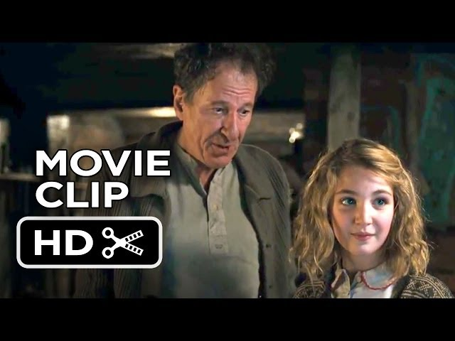 The Book Thief Movie CLIP - It's A Dictionary (2013) - Geoffrey Rush Movie HD