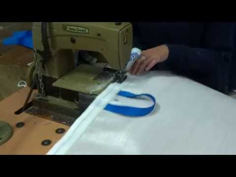 Stitching Industrial Sacks