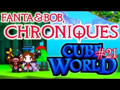 fanta et bob, les chroniques de cube world - ep. 21
