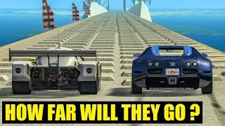 HOW FAR WILL IT GO? #5 -  BeamNG Drive Crashes