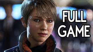 Detroit Become Human - FULL GAME Walkthrough Gameplay No Commentary (Everyone Survives)