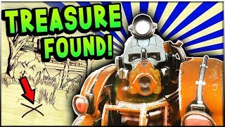Fallout 76  - Unraveling The Locations of TREASURE HUNTING! (Fallout 76 Treasure Map Guide)
