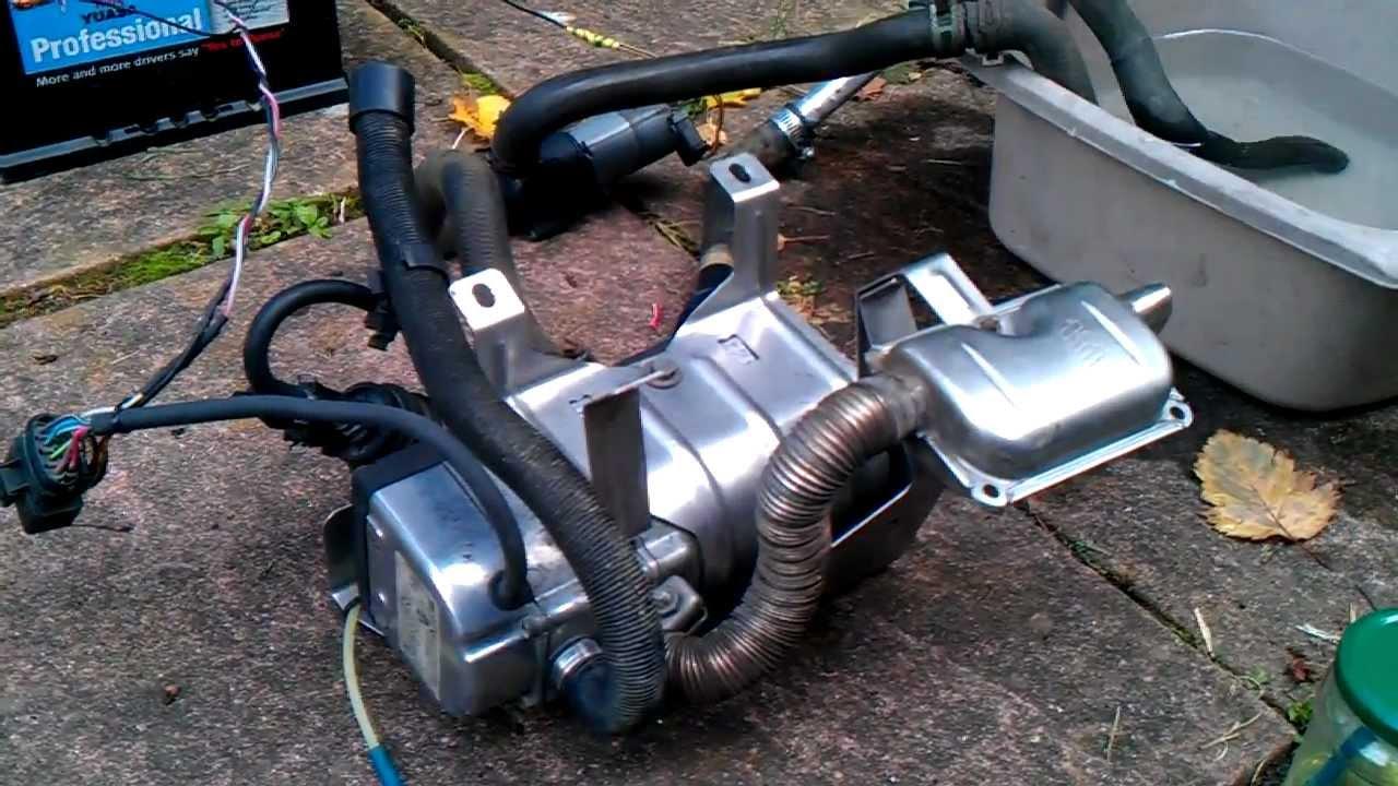 Eberspacher Hydronic Diesel Water Heater Boat Camper Van
