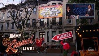 John Krasinski Pranks Jimmy Kimmel in Brooklyn
