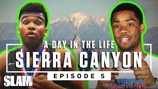 Cassius Stanley & Sierra Canyon TURNED UP otw to the STATE CHIP  🏆   SLAM Day in the Life