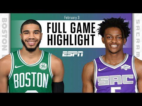 Boston Celtics vs. Sacramento Kings [FULL GAME HIGHLIGHTS]   NBA on ESPN