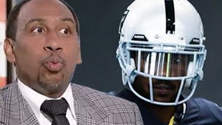 "Antonio Brown Gets RIPPED By Stephen A Smith For Helmet Drama, Calls Him ""Selfish, Childish, Petty"""