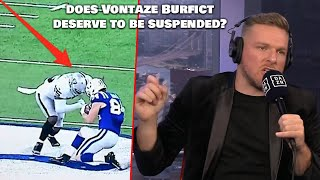 Should Vontaze Burfict Ever Play Again?