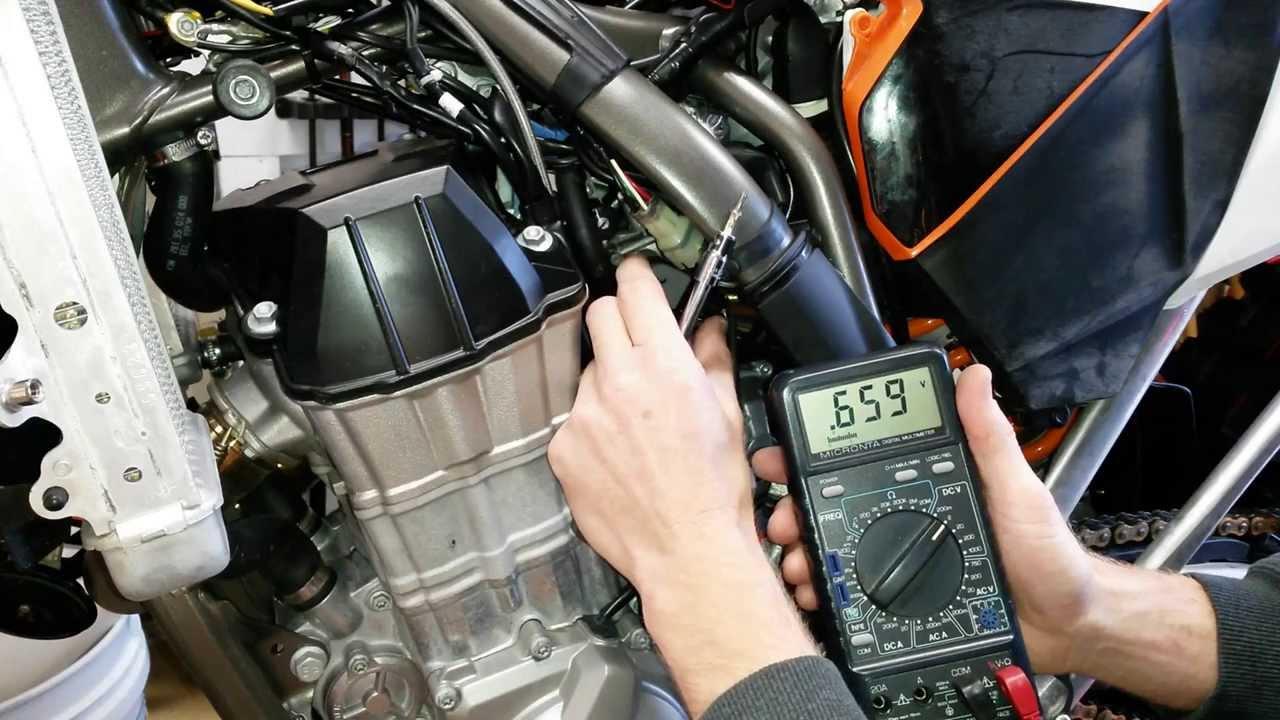 Ktm Throttle Position Sensor Tps Adjustment The Easy Way