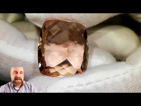41.50 CT GIA Certified Morganite Jewelry Stones
