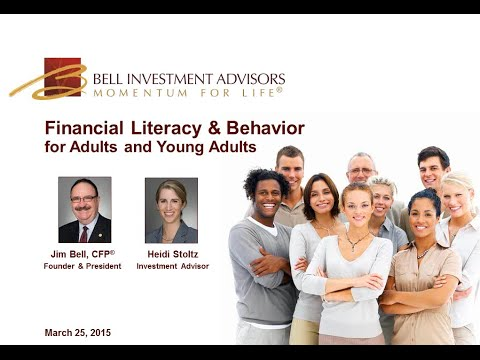 Financial Literacy & Behavior for Adults and Young Adults