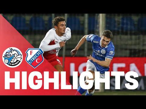 HIGHLIGHTS | Strijdend Jong FC Utrecht verliest van FC Den Bosch
