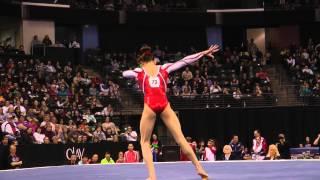 Kyla Ross - Floor Exercise Finals - 2012 Kellogg's Pacific Rim Championships