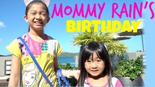 MOMMY RAIN'S BIRTHDAY at the BEACH