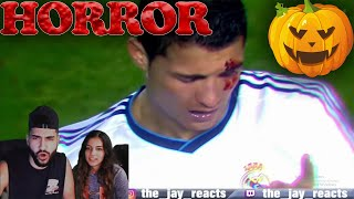 Jay Reacts to Horror Moments in Football!!