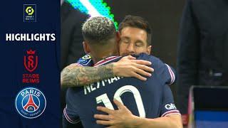 STADE DE REIMS - PARIS SAINT-GERMAIN (0 - 2) - Highlights - (SdR - PSG) / 2021-2022