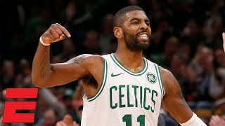 Kyrie Irving shows off handles, deep ball in Celtics' win vs. Pistons | NBA Highlights