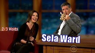 Sela Ward - She Is Really Into Craig - 2/3 Visits In Chronological Order