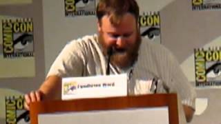 Adventure Time Ice King Radio Drama at San Diego Comic Con 2012.MOV