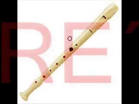 Cómo tocar las notas básicas de flauta dulce
