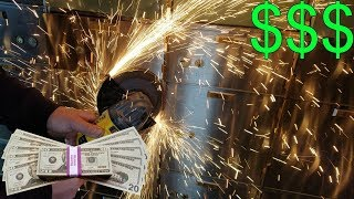 (MONEY FOUND IN ABANDONED BANK SAFE) Cracking Open Safes In Abandoned Bank! WE'RE RICH!!!