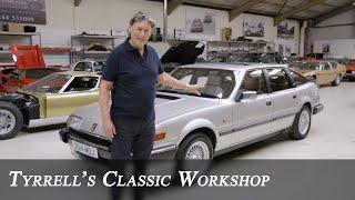 Rover SD1 Vitesse - American V8 Power Meets British Engineering | Tyrrell's Classic Workshop
