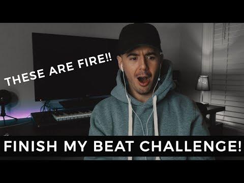 MY SUBSCRIBERS FINISHED MY BEAT! | Beat Making Challenge fl studio