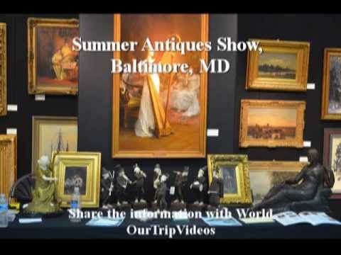 Pictures of Baltimore Summer Antiques Show, Baltimore, MD, US