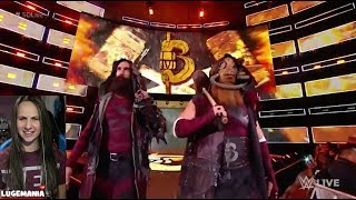 WWE Smackdown 11/21/17 Bludgeon Brothers Entrance