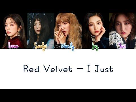 Red Velvet - I Just Lyrics (Color Coded/ENG/ROM/HAN)