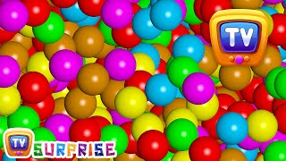 Magical Surprise Eggs Ball Pit Show For Kids | Learn Colours & Shapes | ChuChu TV Surprise Fun